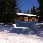 Cabin 1 is great for your snowmobile adventure on Lake Vermilion.