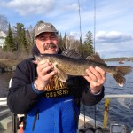 John shared this picture of another nice Lake Vermilion early spring walleye.