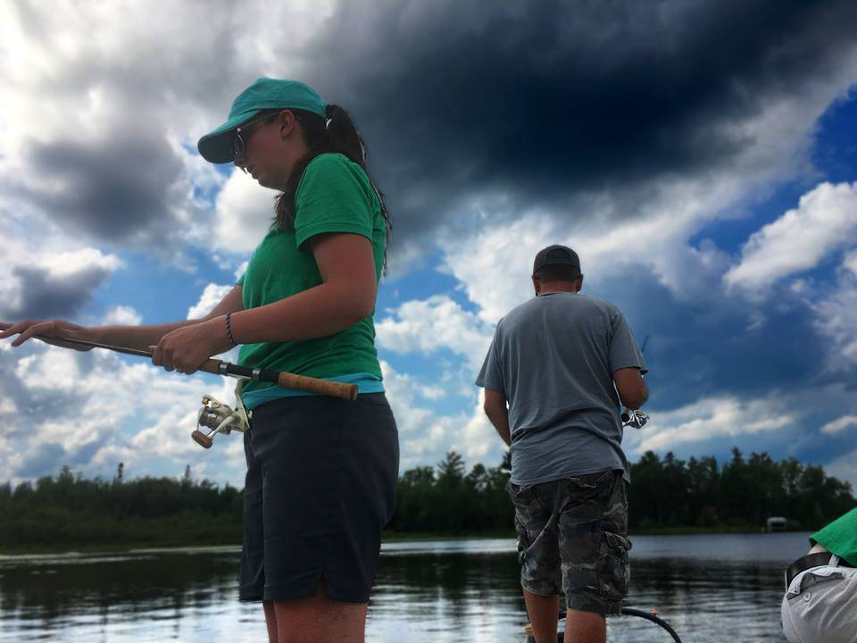 father and daughter fishing Vermilion