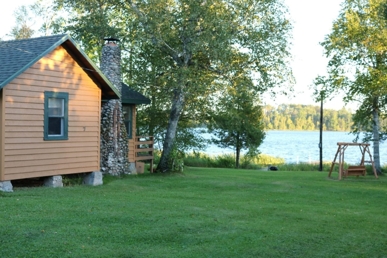 Cabin 7 at Everett Bay Lodge on Lake Vermilion