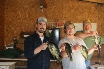 crappies caught on Lake Vermilion