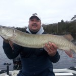 "44"" Lake Vermilion fall musky"