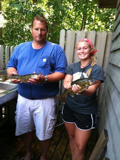 Millers with walleyes