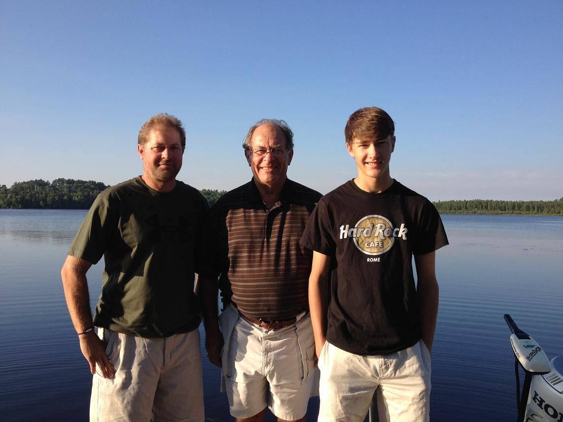 Family vacation at Everett Bay Lodge