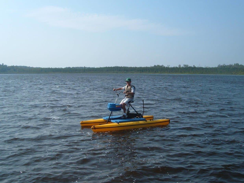 Eric on Hydrobike