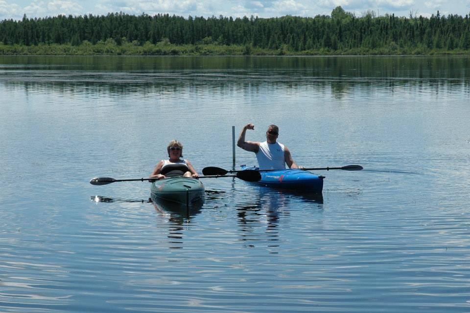Kayaking on Lake Vermilion