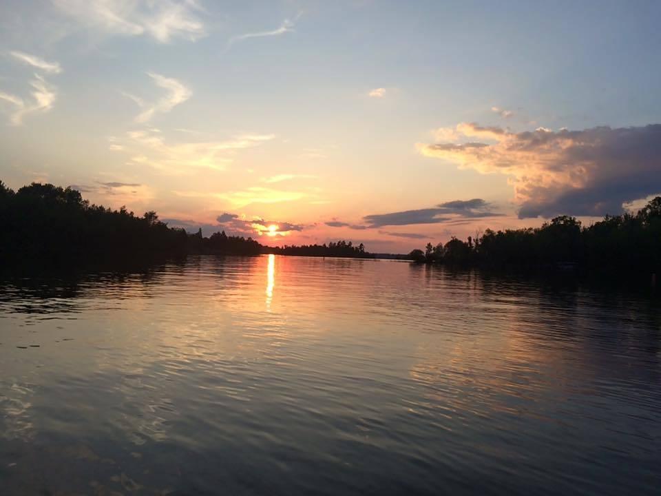 Lake Vermilion, Minnesota sunset