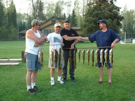 guys with lake vermilion walleyes
