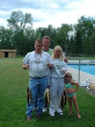 Millers with Lake Vermilion walleyes