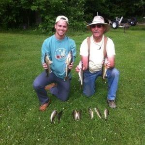 Lake Vermilion walleye fishing