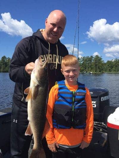 Nice walleye Minnesota